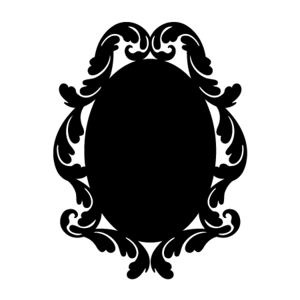 Baroque 2 Chalkboard Sticker