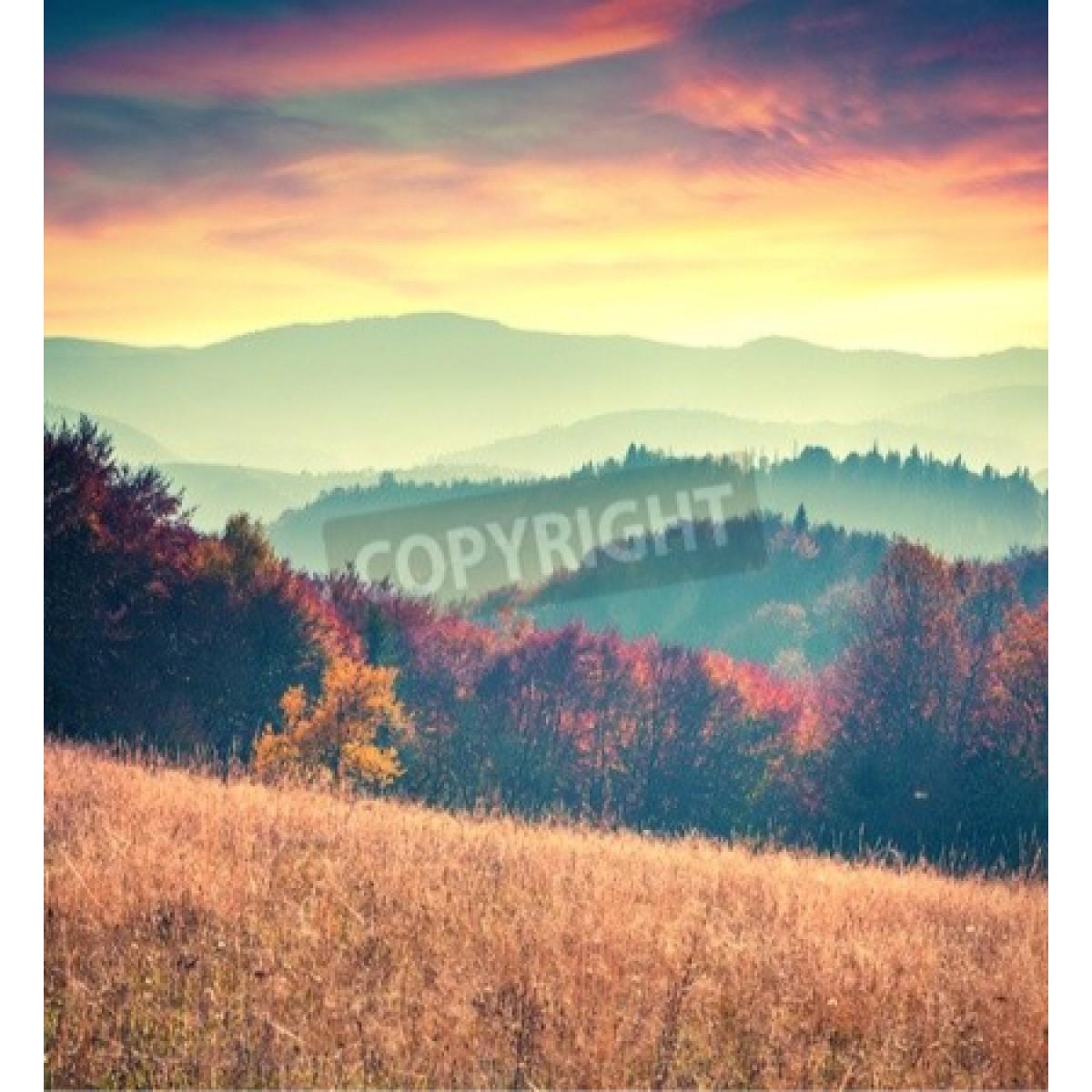 Colorful Autumn Sunrise
