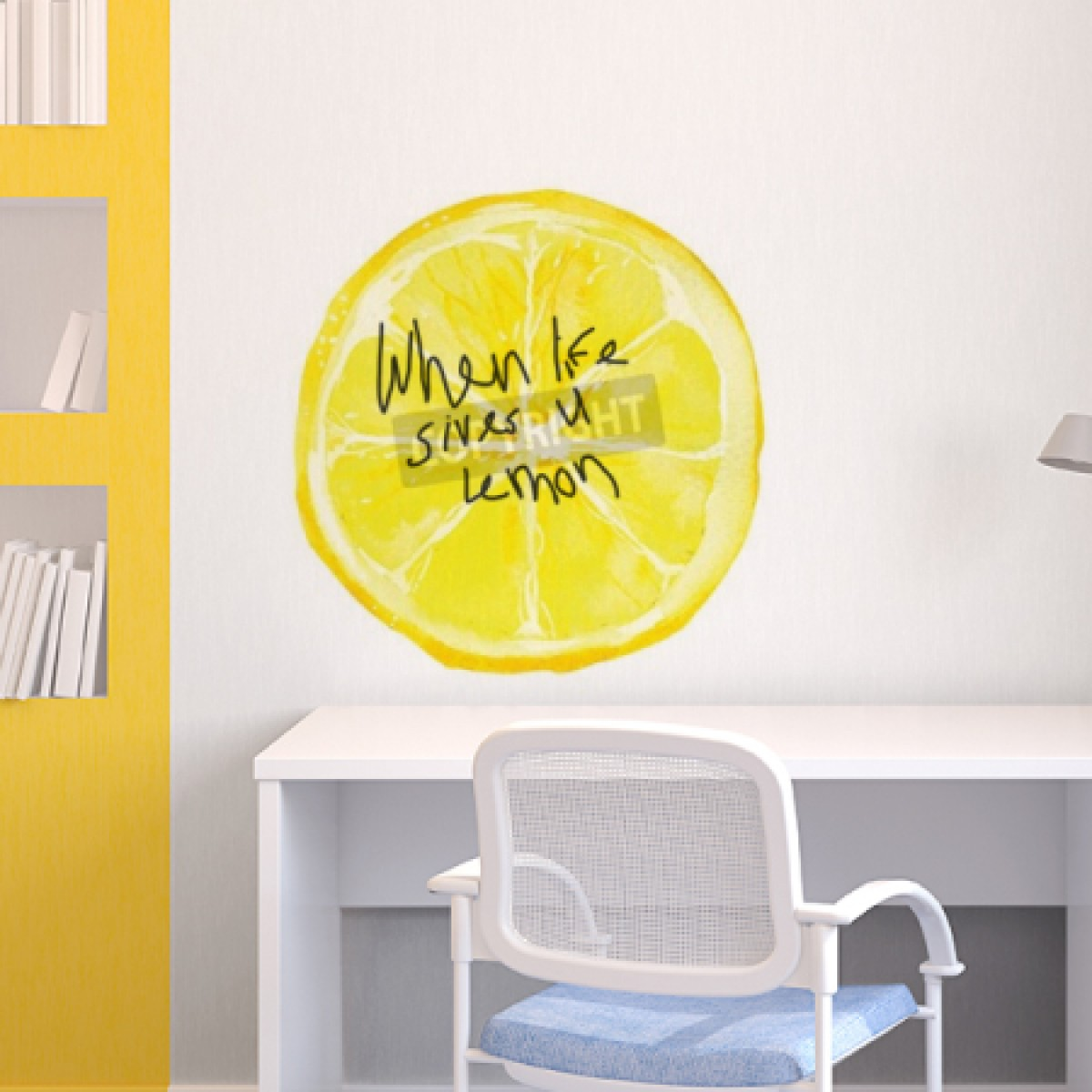 Lemon Slice Whiteboard