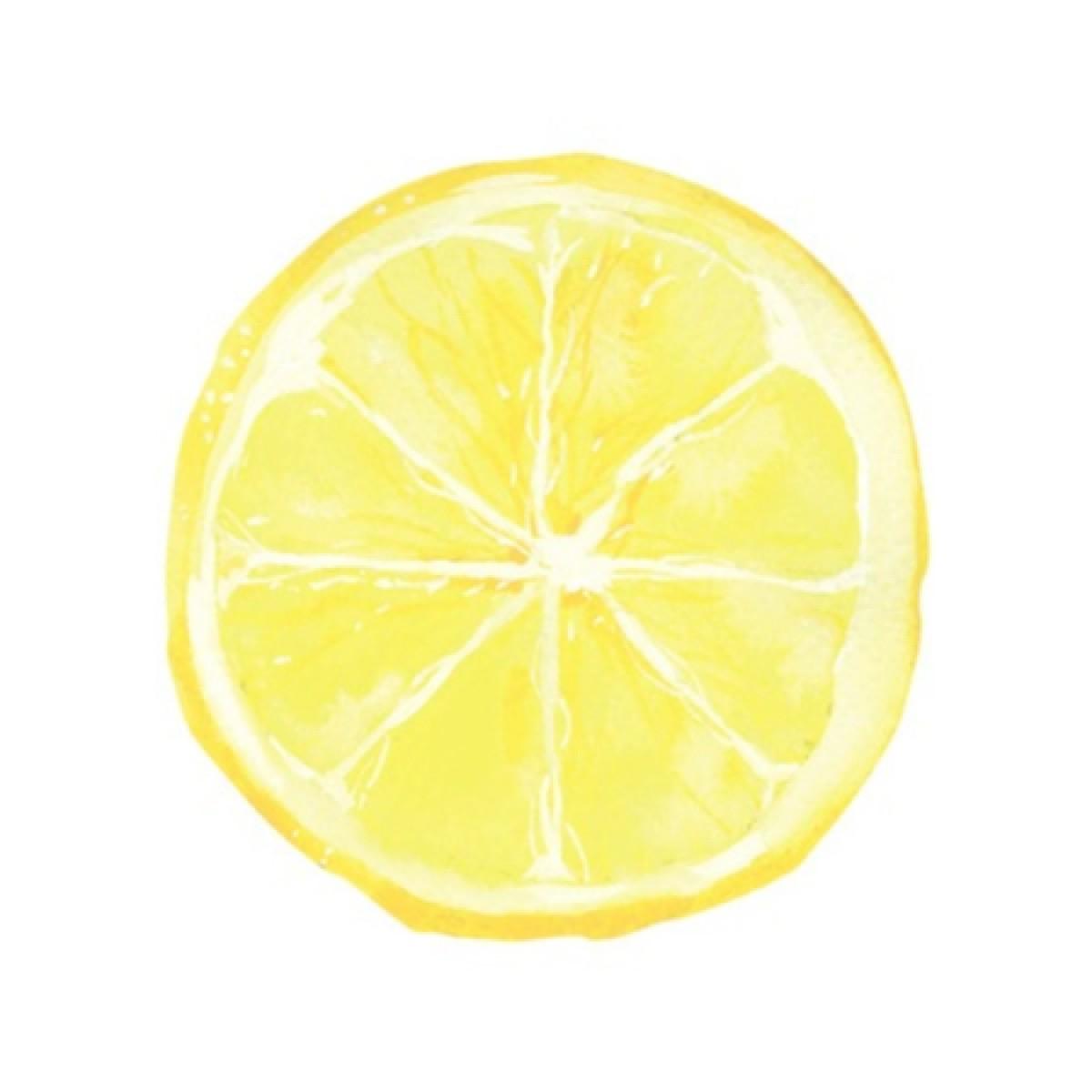 Lemon Slice Whiteboard Sticker