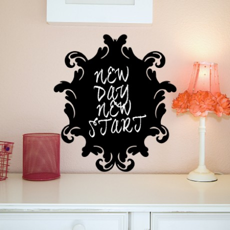 Baroque 1 Chalkboard Sticker