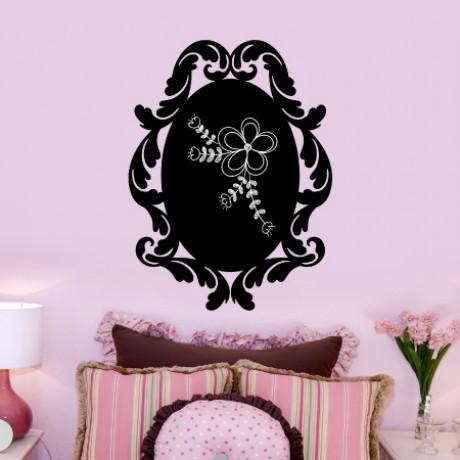 Baroque 2 Chalkboard Sticker