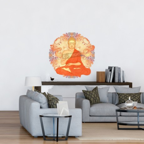 Buddha With Ornate Mandala