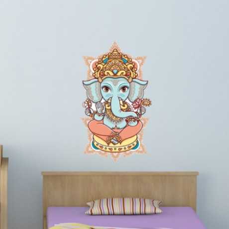 Colorful Lord Ganesh