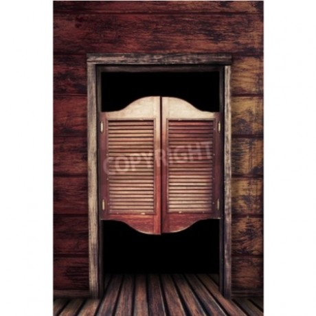 Swinging Saloon Doors